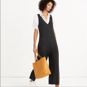 Madewell Merino Ribbed Sweater Jumpsuit Small NWT